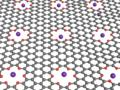 Trapping ions in graphene