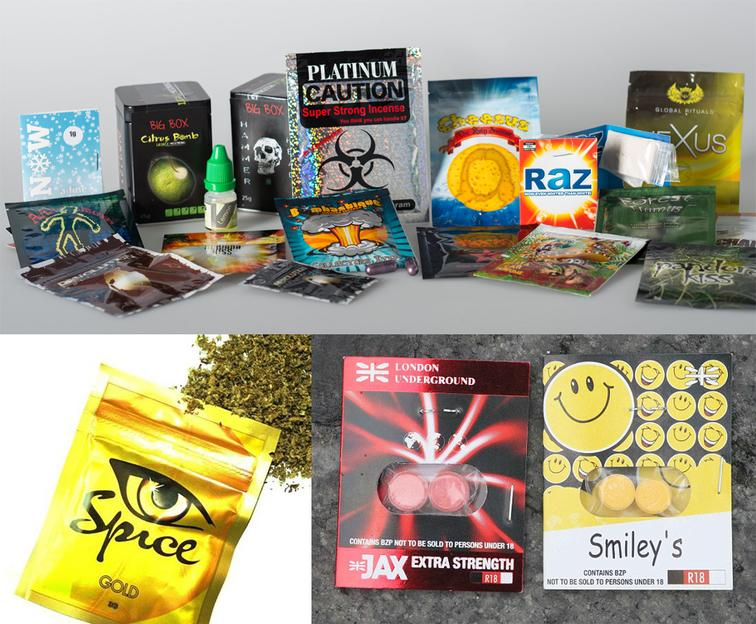 ATR-FTIR und Raman Spektren von neuen psychoaktiven Substanzen/ Designer Drogen