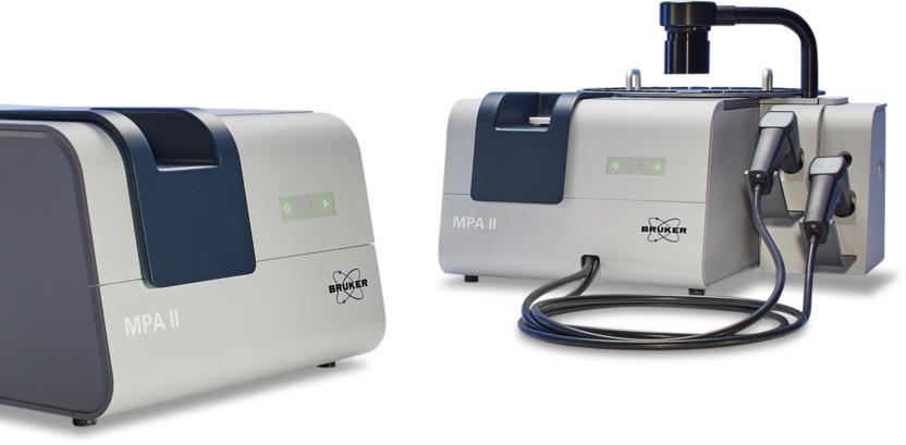 MPA II - der neue FT-NIR Multi Purpose Analyzer
