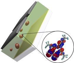 Wie Plastik durch fremde Moleküle leitfähig wird