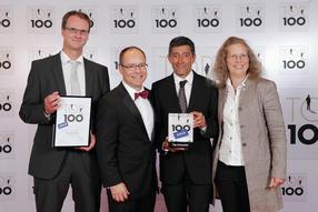 KNAUER zählt zu den Top 100 innovativsten Mittelständler