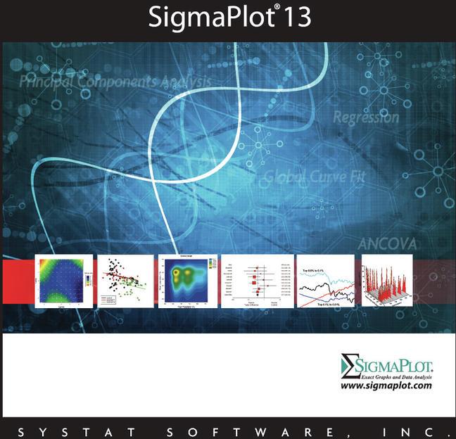SigmaPlot 13 - Wissenschaftliche Datenanalyse Software