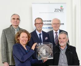 Innovationspreis für die Entwicklung einer Nanowaage