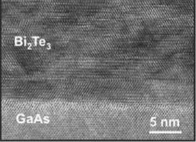 HRTEM image of bismuth telluride