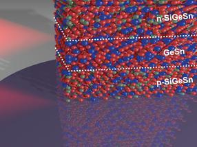 Zinn in der Photodiode: nächster Schritt zur optischen On-Chip-Datenübertragung