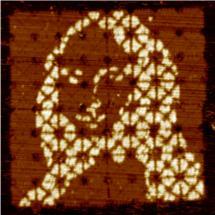 Winzige Mona Lisa entsteht aus DNA