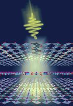 Lichtblitz bricht den elektrischen Widerstand