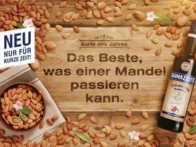 Produktneuheit Ramazzotti Amaretto: Das Beste, was einer Mandel passieren kann.