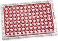 Plaques de culture cellulaire avec meilleure utilisation en microscopie et moindre